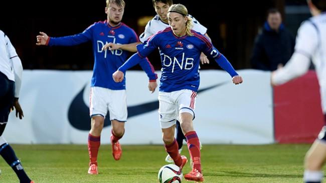 Elias Mar Omarsson - tomålsscorer. (Foto: vif-fotball.no)