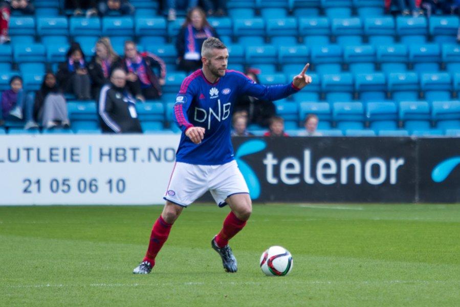 Kjetil Wæhler var Vålerengas beste mot Lillestrøm. Foto: Grydis.no
