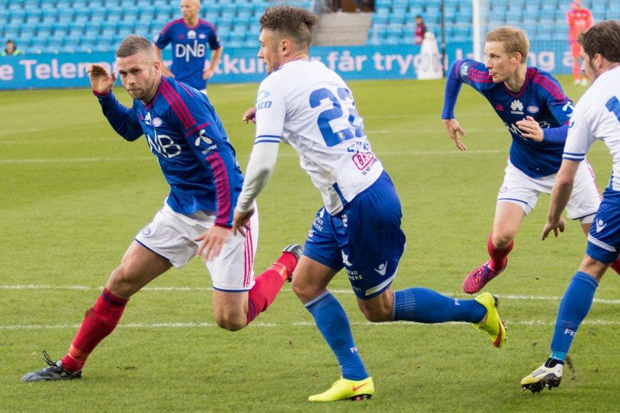 Kjetil Wæhler er heldigvis tilbake mot Odd. Foto Grydis.no