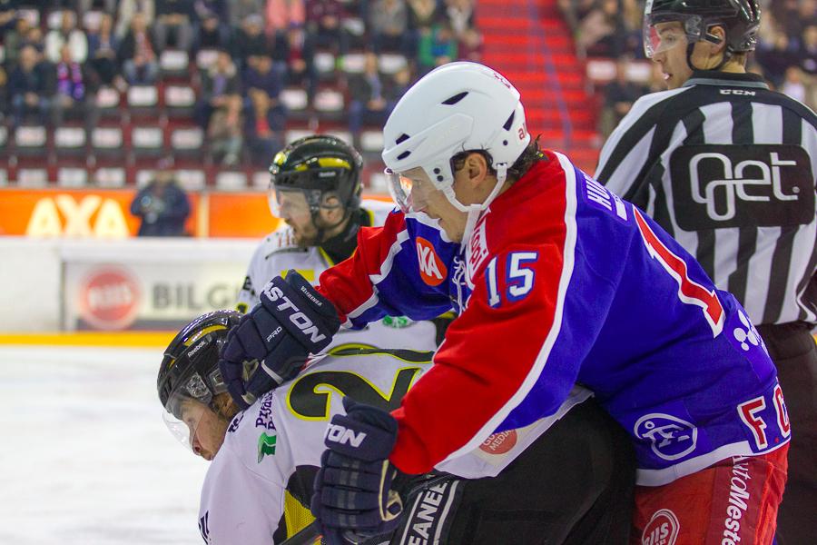 Fredrik Csisar er klar for hatoppgjøret mot Stavanger Oilers. Foto: Grydis.no