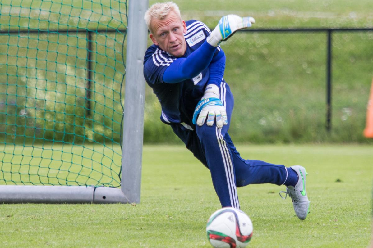Sascha Burchert tar imot LSK i kveld. Foto: Grydis.no