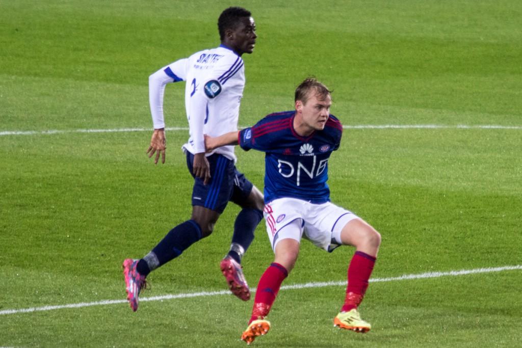 Herman Stengel er igjen tilgjengelig til kampen mot Molde. Foto: Grydis.no