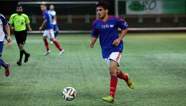 Mortadha Alkanany - målscorer mot Stabæk 2. Foto: vif-fotball.no.