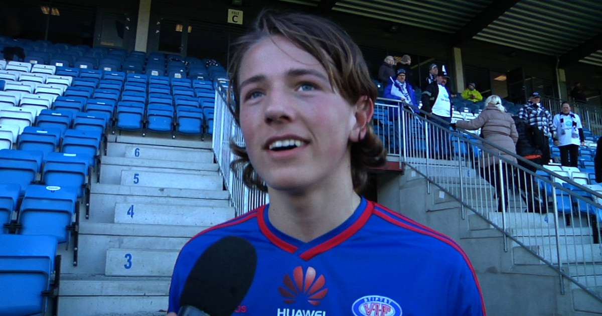 Sander Berge. Foto: vif-fotball.no.