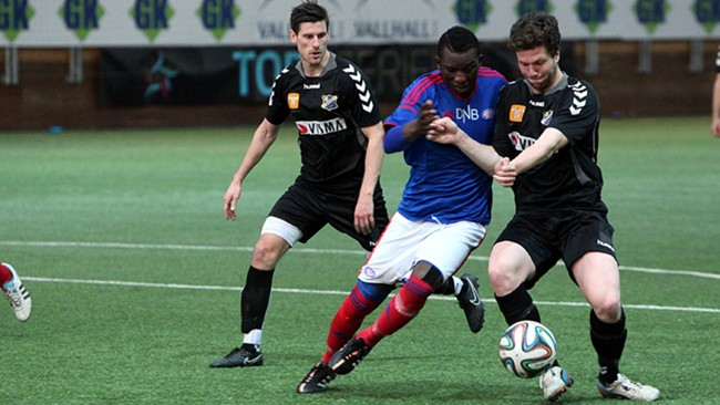 Vålerenga 2 tapte for Ullern. Foto: VIF Media.