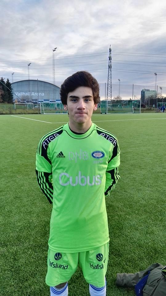 Filipe Marqued Amador har flyttat til Oslo fra Portugal. Foto: Vålerenga Fotball