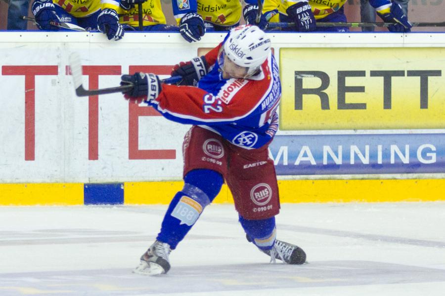Filip Gunnarsson skyter