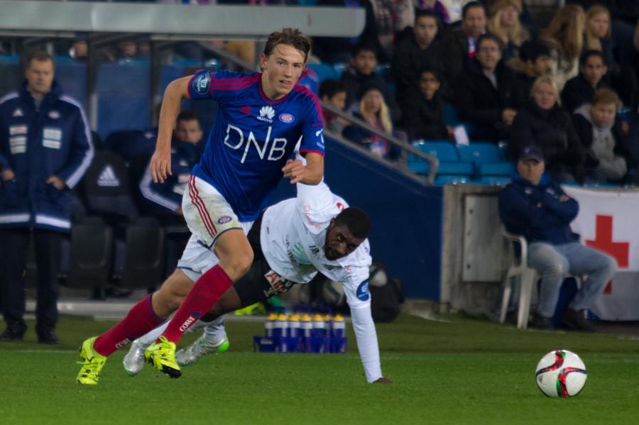 Sander Berge er ute resten av året. Foto: grydis.no.
