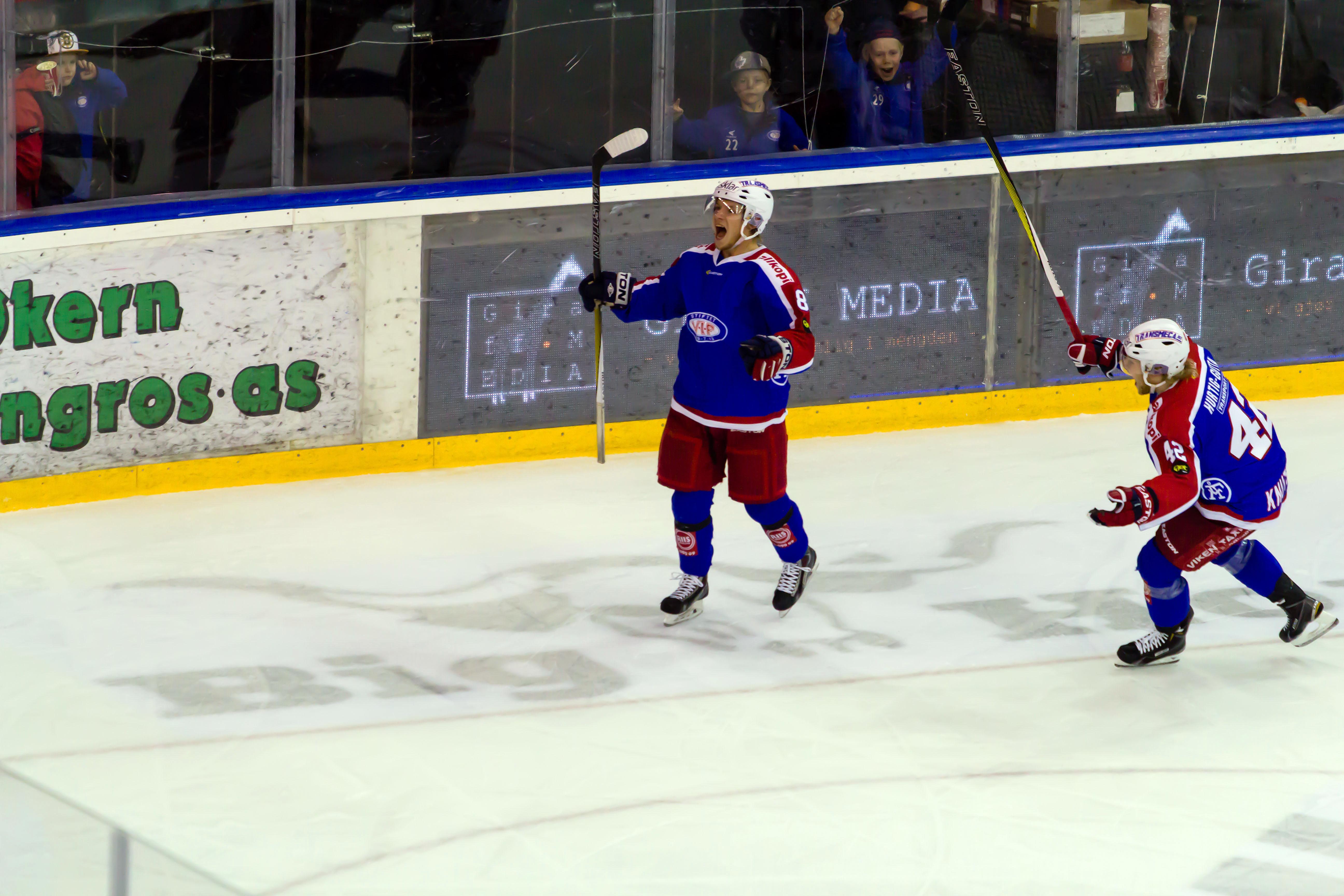 Magnus Fischer, matchvinner mot Lørenskog. Foto: Jarl-Erik Sandberg / jesphoto.smugmug.com