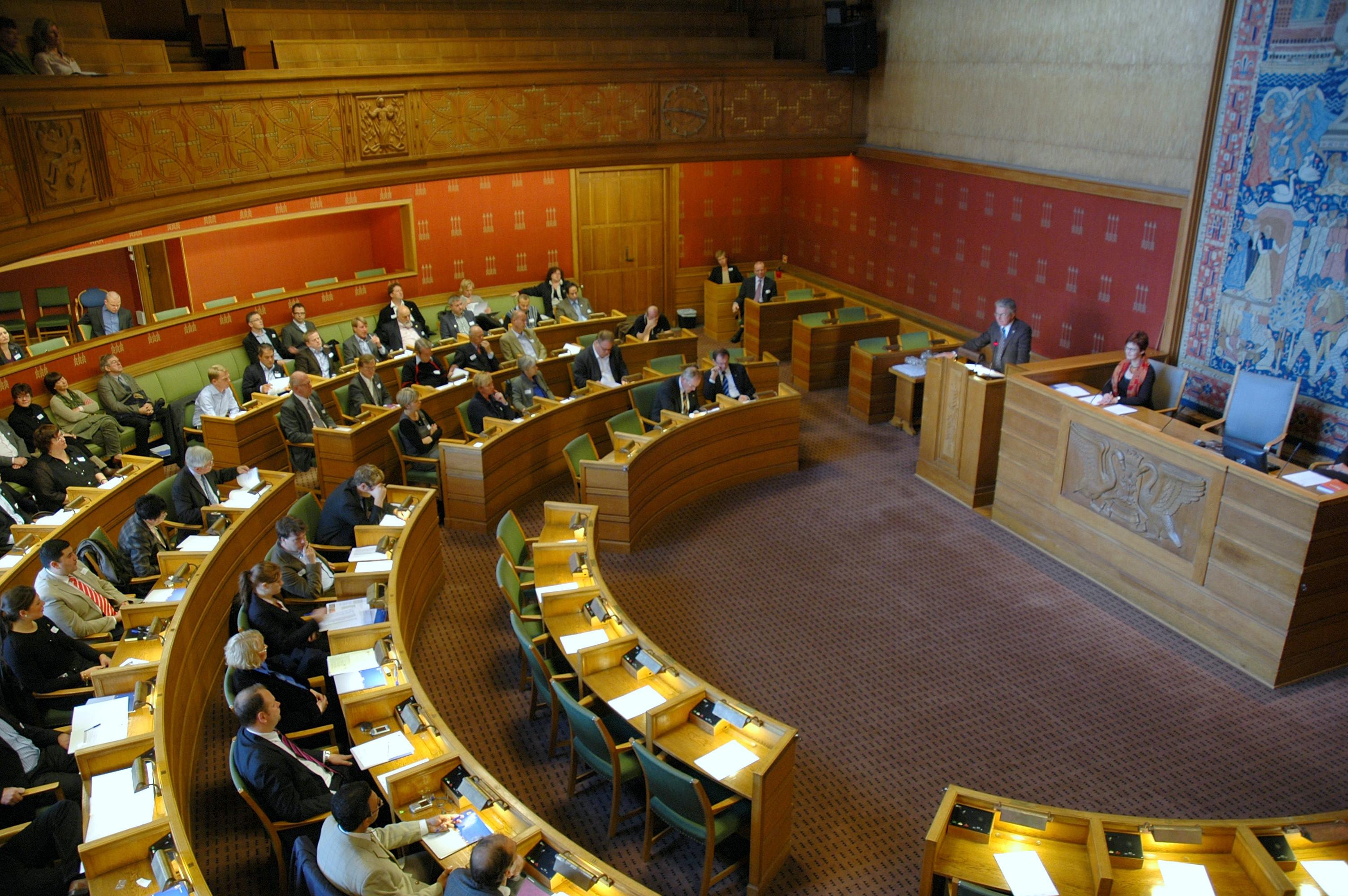 I Bystyresalen blir det mye snakk om Vålerenga Hockey i dag rundt klokka to. Foto: Kjetil Bjørnsrud [CC BY-SA 3.0] via Wikimedia Commons