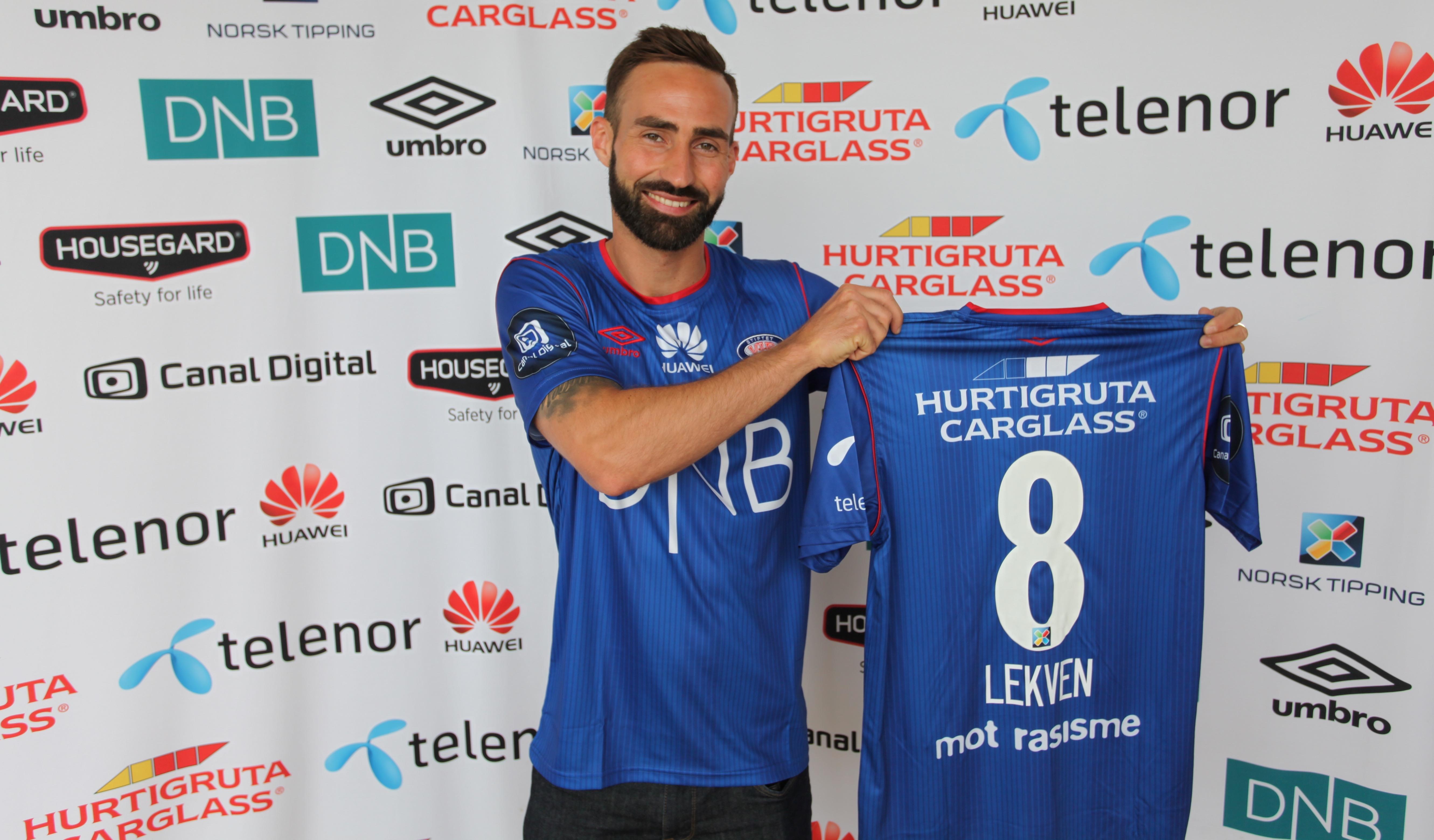 Magnus Lekven klar for Vålerenga. Foto: vif-fotball.no