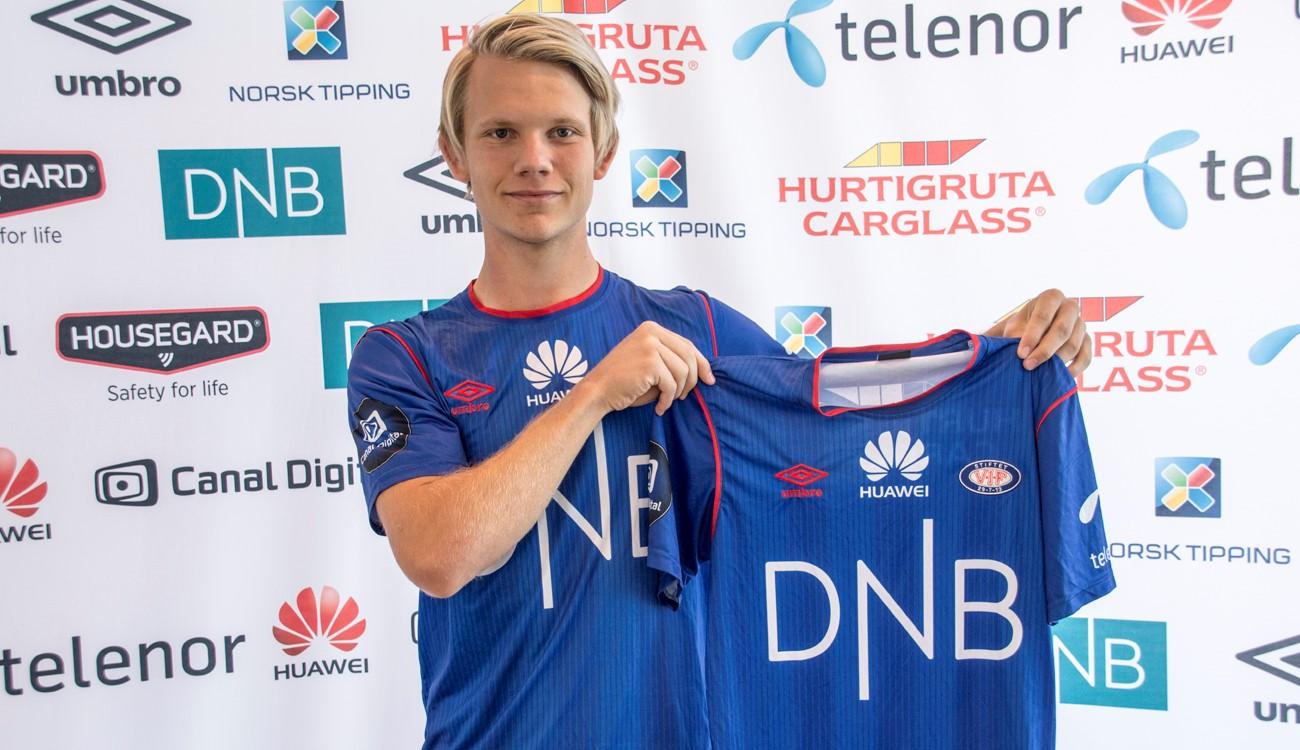Thomas Elsebutangen valgte Vålerenga. Foto: vif-fotball.no