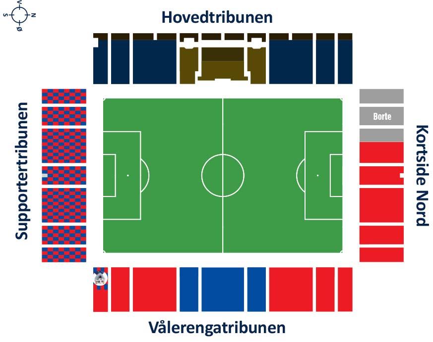 Stadion Oversikt